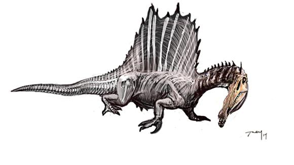 Spinosaurus Walrus SKB