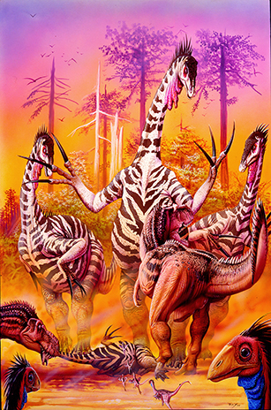 OldTherizinosaurusB