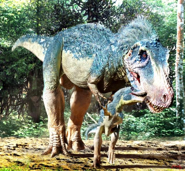 Tyrannosaurus Mural Baby copy 2